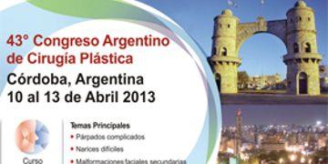 43º Congreso Argentino de Cirugía Plástica