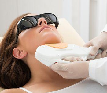 Los efectos de la depilación láser facial