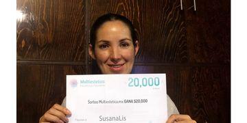 Ganadora del mes de mayo: SusanaLis