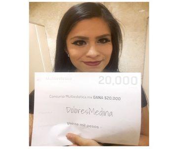 Ganadora del sorteo de agosto: DoloresMedina