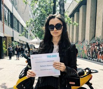 La ganadora de septiembre: Gulnara