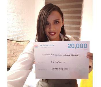 FeliZiana es la ganadora de junio, ¡felicidades!
