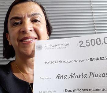 Ana Maria Plazas es la ganadora de Julio