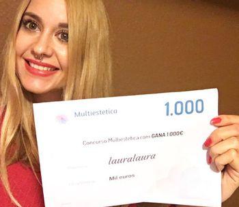 Lauralaura es la ganadora de septiembre