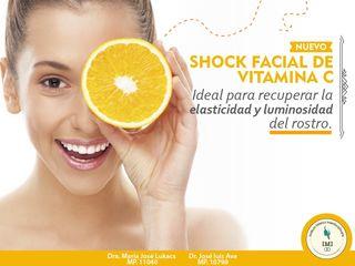 Shock Facial de Vitamina C