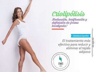 CRIOLIPOLISIS: Eliminá la adiposidad localizada de difícil tratamiento de forma NO Invasiva!
