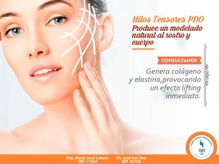 HILOS TENSORES PDO: Tratamiento Biostimulante para Mejorar Flaccidez y Tensar la Piel