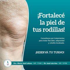 Protocolos combinados para Rodillas muscular, cutáneo, articular y graso