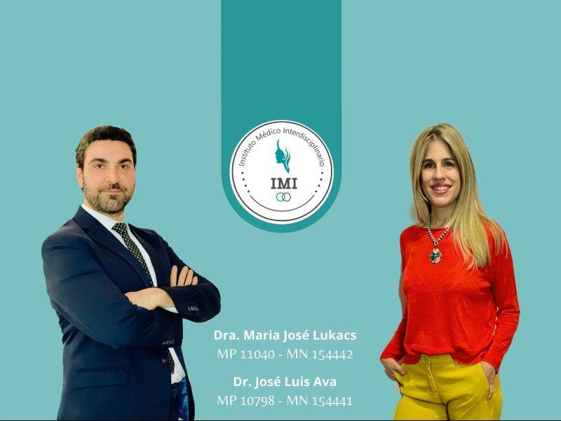 Dra María José Lukacs y Dr Jose Luis Ava