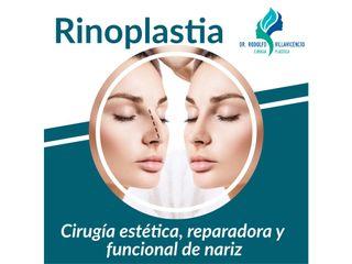Cirugía estética, reparadora y funcional de nariz