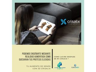 NUEVO SERVICIO: Crisalix - Realidad Aumentada