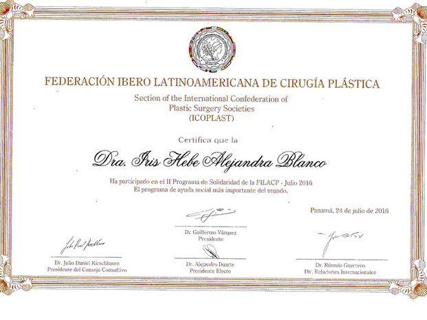Dra. Hebe Blanco