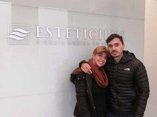 VIRGINIA GALLARDO Y MARTIN ROJAS EN ESTETICIENS