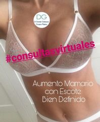 Aumento mamario Dr. Damian Galeazzo