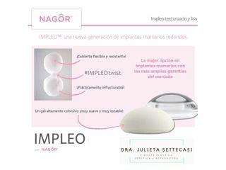 Implantes mamarios - Dra. Julieta Settecasi