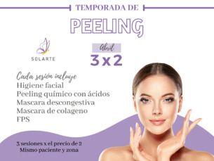 Peeling Químico 3×2 durante octubre