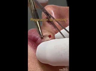 Reparación de piercing