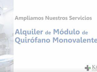 KORPER - Ampliamos nuestros servicios - Alquiler de Quirófano