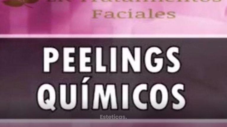 Peelings químicos.