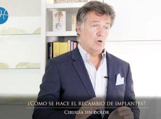 Recambio de implantes - Dr. Honorio Labaronnie