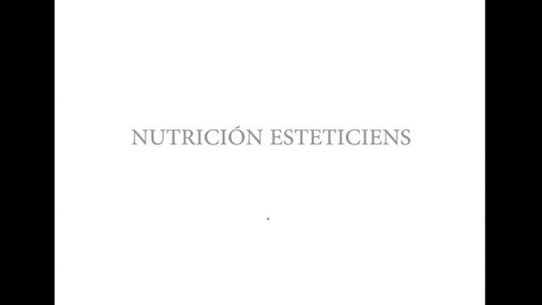 Nutición Esteticiens