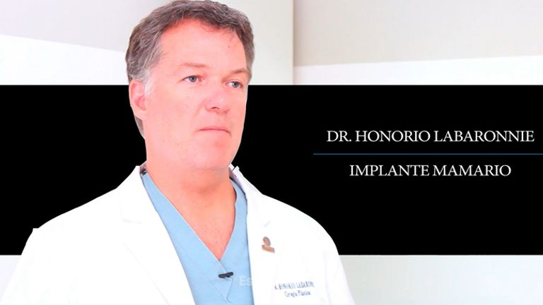Implantes mamarios - Dr. Honorio Labaronnie